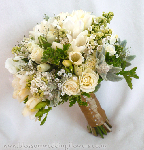 Classic Wedding Bouquets: Florals And Frivolities