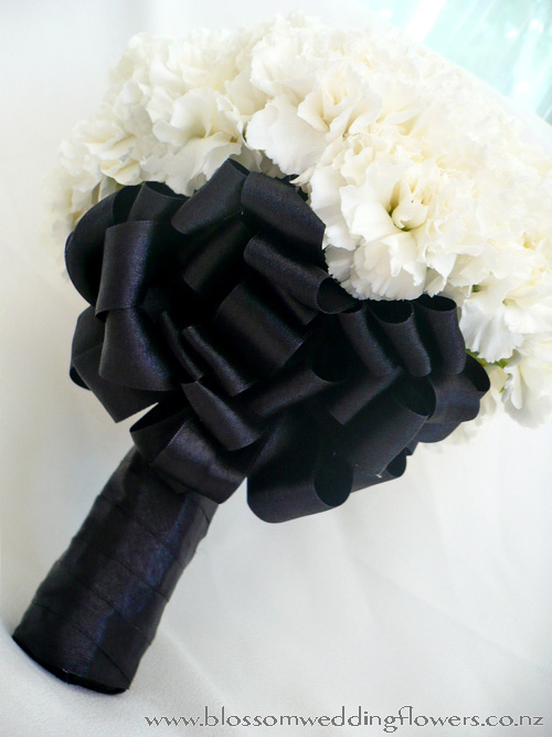 Wedding Bouquets Black And White